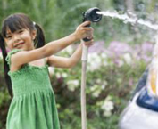 Girl With Hosepipe